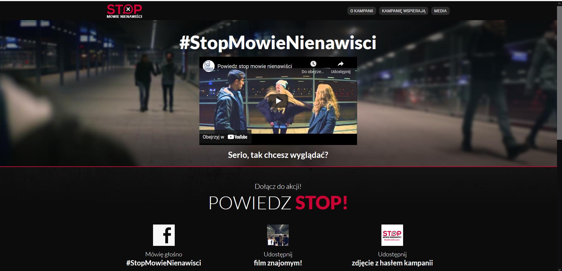 #StopMowieNienawiści